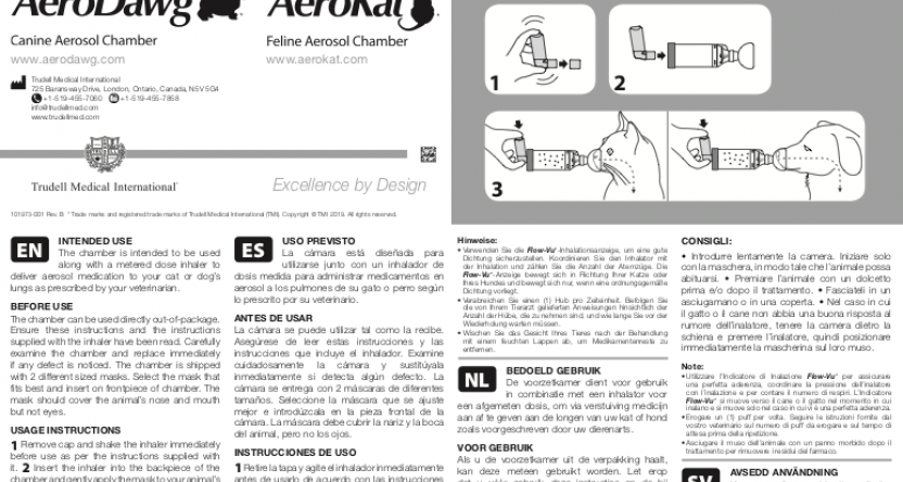 AeroKat* Chamber Instructions for Use