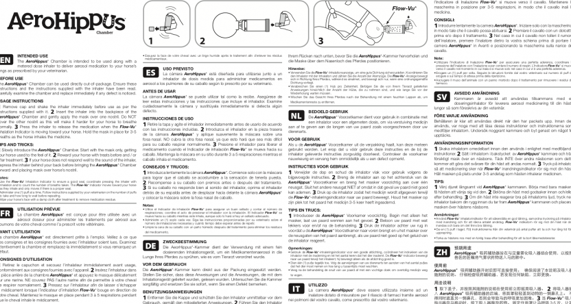 AeroHippus* Chamber Instructions for Use